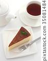 奶酪蛋糕 糕點 西式甜點 35081484