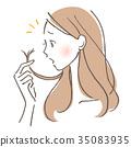 여성 머리카락 문제 35083935