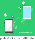 marketing, vector, icon 35083962