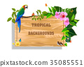 tropical backgrounds 35085551