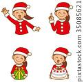 聖誕老人女人套 35085621