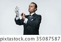 man gloves suit 35087587