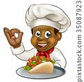 chef black kebab 35087923