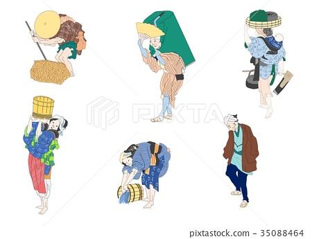 Hokusai people-2 35088464