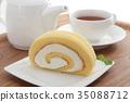 瑞士卷 果凍卷 夾心蛋糕 35088712