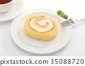 瑞士卷 果凍卷 夾心蛋糕 35088720