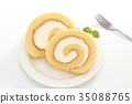 瑞士卷 果凍卷 夾心蛋糕 35088765