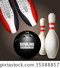 shoe bowling ball 35088857
