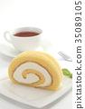 瑞士卷 果凍卷 夾心蛋糕 35089105