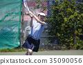 打網球的女人 35090056