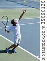 打網球的人 35090120