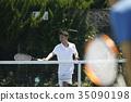 打網球的人 35090198