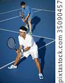 男子打網球雙打 35090457