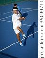 男子打网球双打 35090711