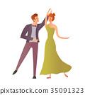 dance, dancing, couple 35091323