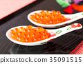 醃三文魚籽 魚卵 湯匙 35091515