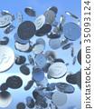 硬幣 錢幣 數碼成像圖片 35093124