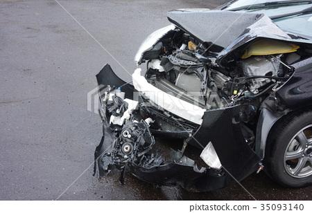 Accident car 35093140