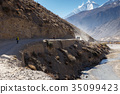 road, river, valley 35099423
