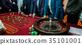 table with Roulette 35101001