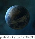 3d, earth, globe 35102093