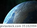 Earth orbit 35102094