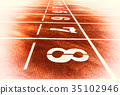 race track for running competitions numbers  35102946