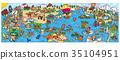 世界插圖地圖 35104951