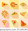 icons, flat, vector 35106589