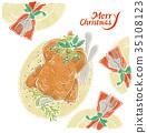 chicken, flesh, meat 35108123