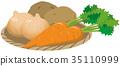 胡蘿蔔 洋蔥 土豆 35110999