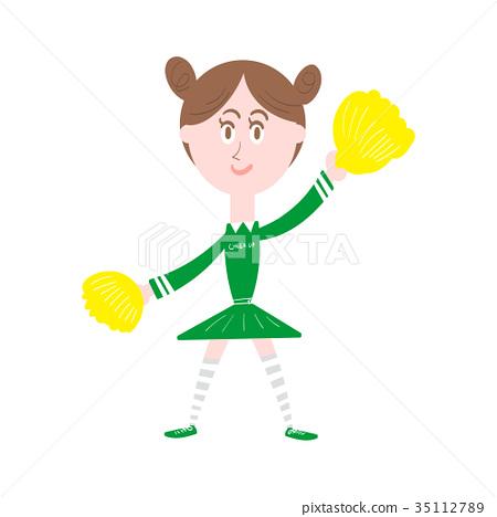 Cheering women 35112789