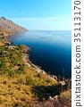 Zingaro sea coast, Sicily, Italy 35113170