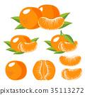 水果 橙色 橘子 35113272