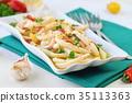 squid cooked cuisine 35113363
