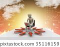 3d, laptop, pc 35116159