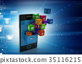 application icon concept 35116215