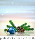 christmas decoration greeting 35118036