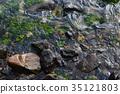 Stones of the seaside of Nagasaki 35121803
