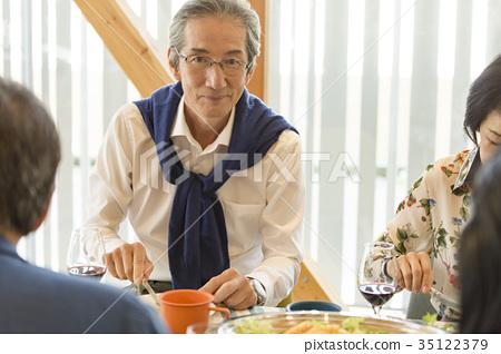 高级家庭聚会第二人生微笑 35122379