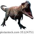 3d dinosaur rex 35124751