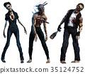 3d, halloween, horror 35124752