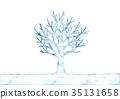 ภาพประกอบของต้นไม้ฤดูหนาว 35131658