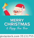 santa christmas merry 35131755