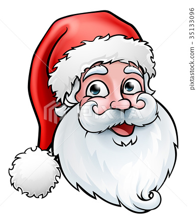 Santa Claus Christmas Cartoon 35133096