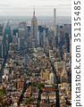뉴욕 도시 부감 35135485