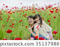 父母身份 父母和小孩 母亲 35137986
