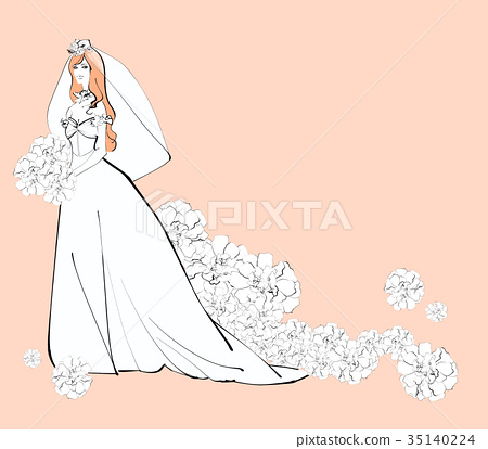 Wedding dress bride 35140224
