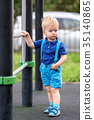 toddler, boy, playground 35140865
