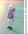 toddler, boy, playground 35140866